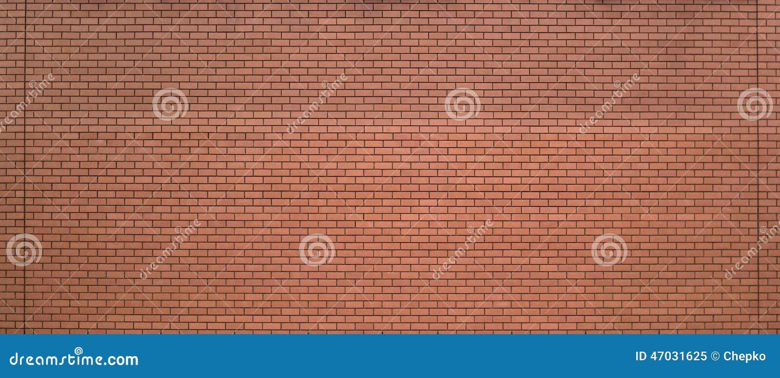 Nueva pared de ladrillo