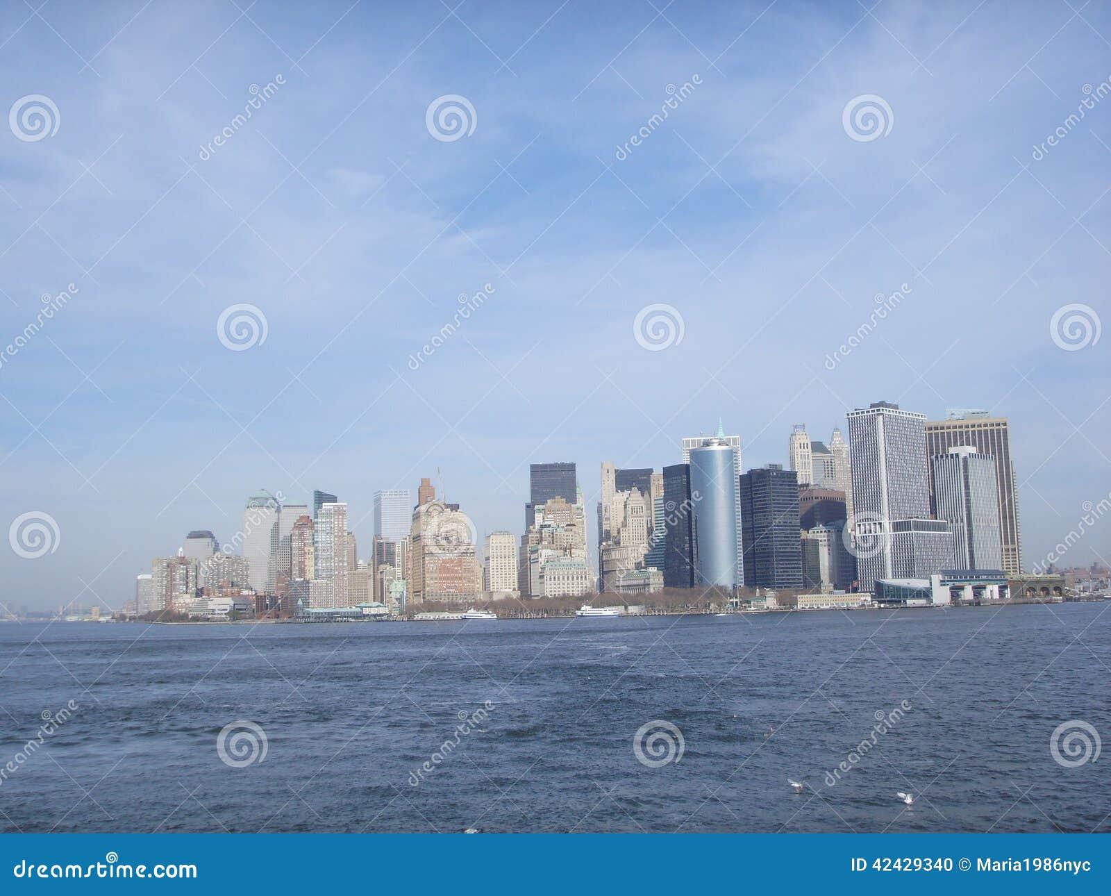 Nueva York céntrica antes de Freedom Tower