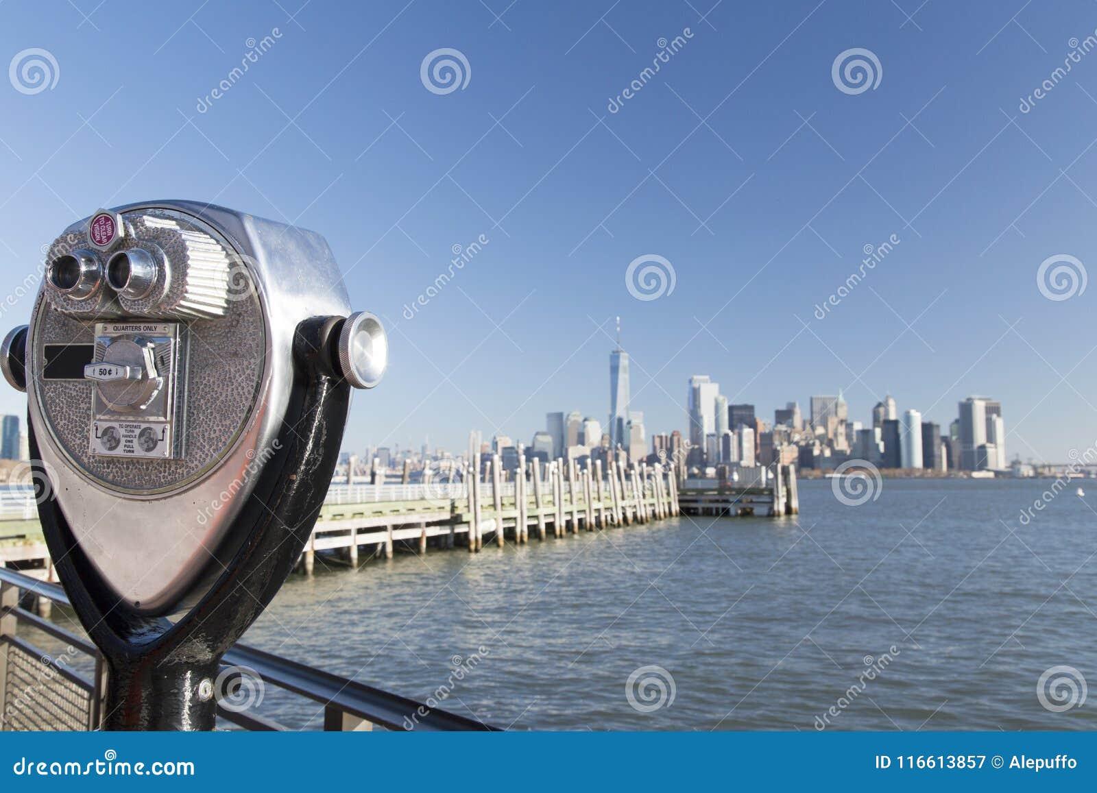 Nueva York, horizonte del Lower Manhattan