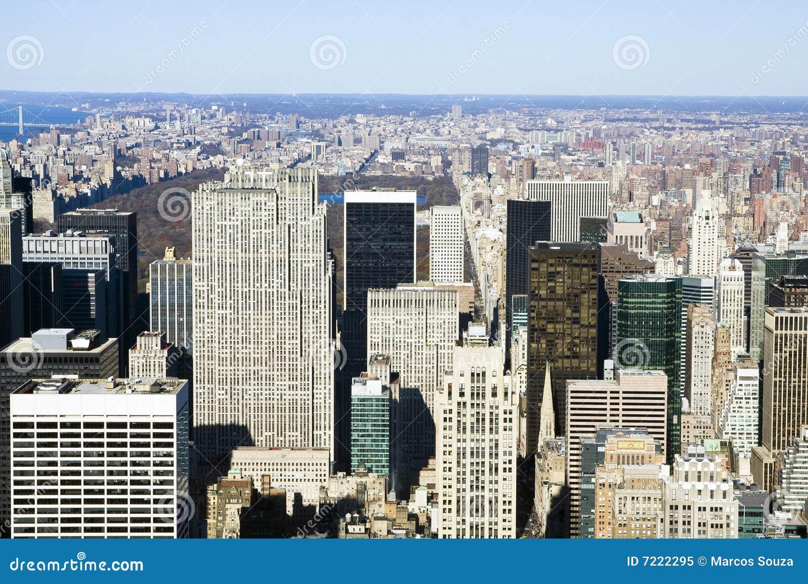 Nueva York vista de arriba