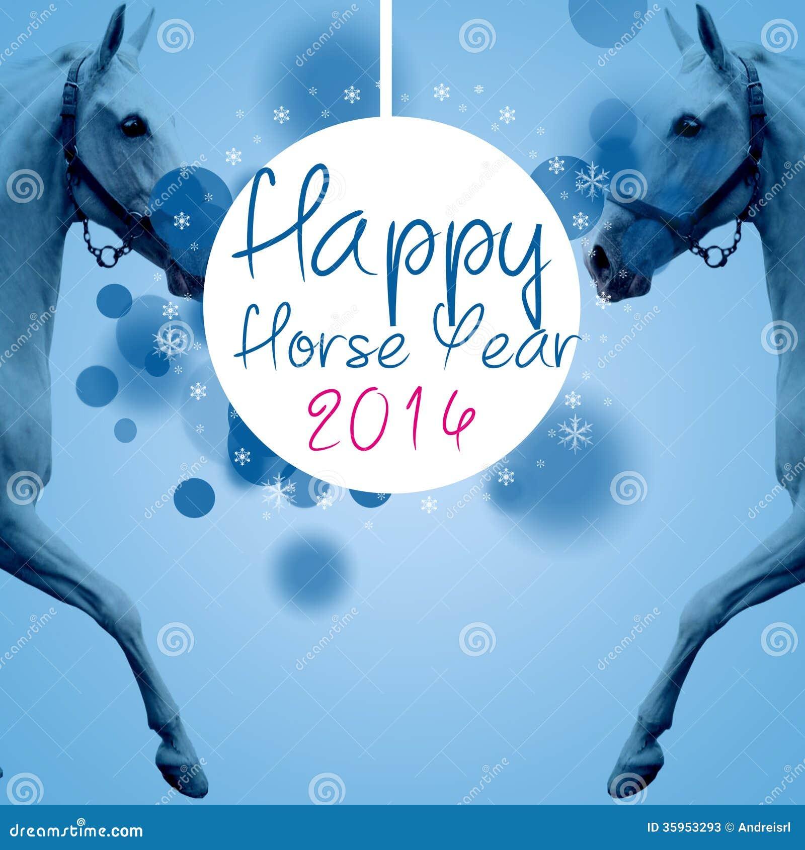 Nuevo año 2014 del caballo