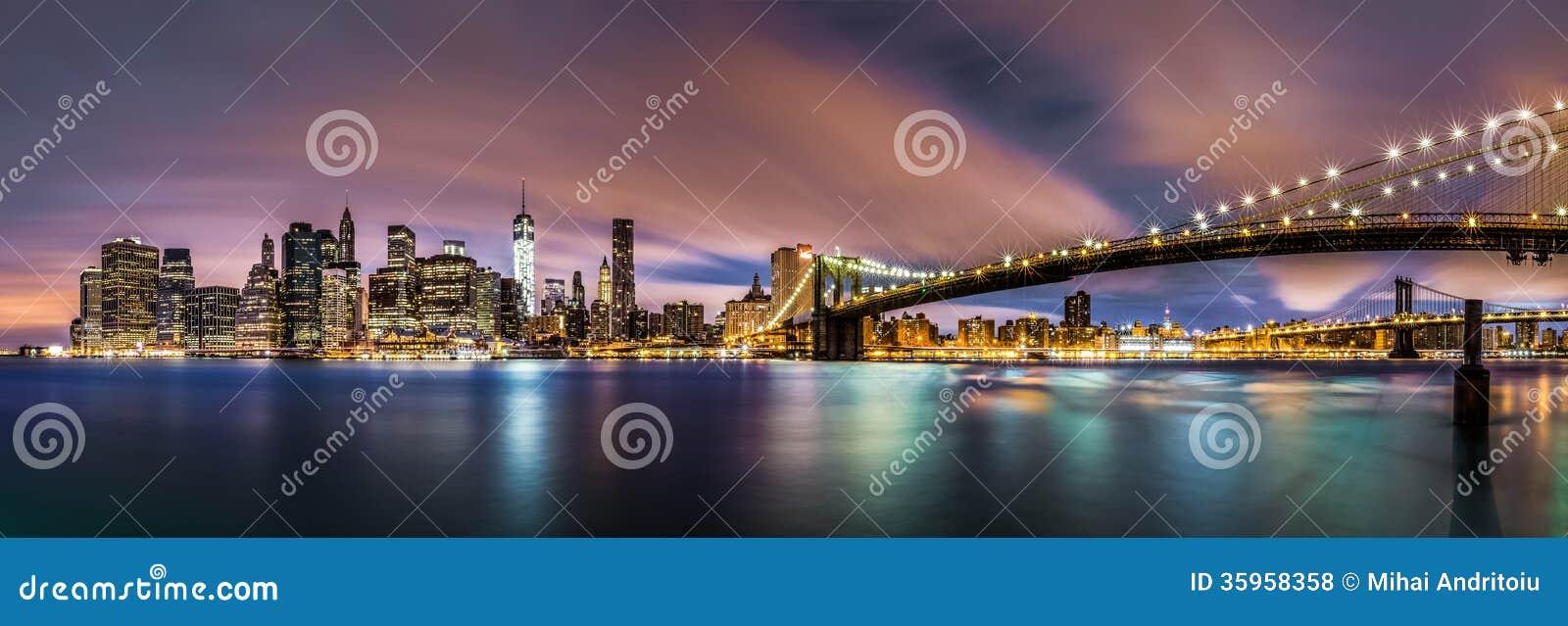 Nuevo amanecer sobre el Lower Manhattan