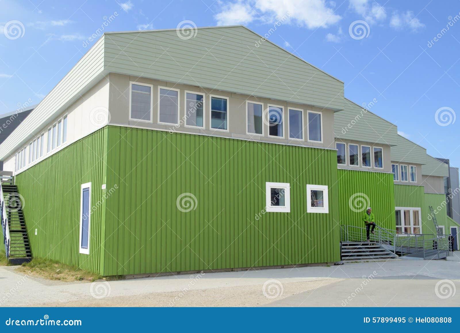 Nuevo color verde para la casa y la chaqueta