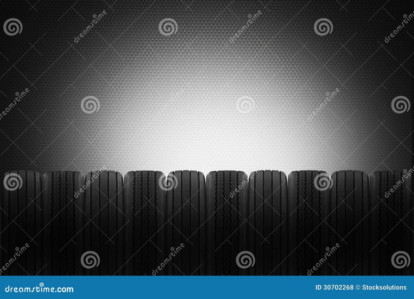 Nuevo fondo de las ventas del neumático