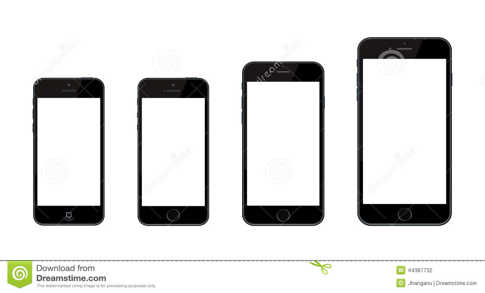 Nuevo iPhone 6 de Apple e iPhone 6 más e iPhone 5