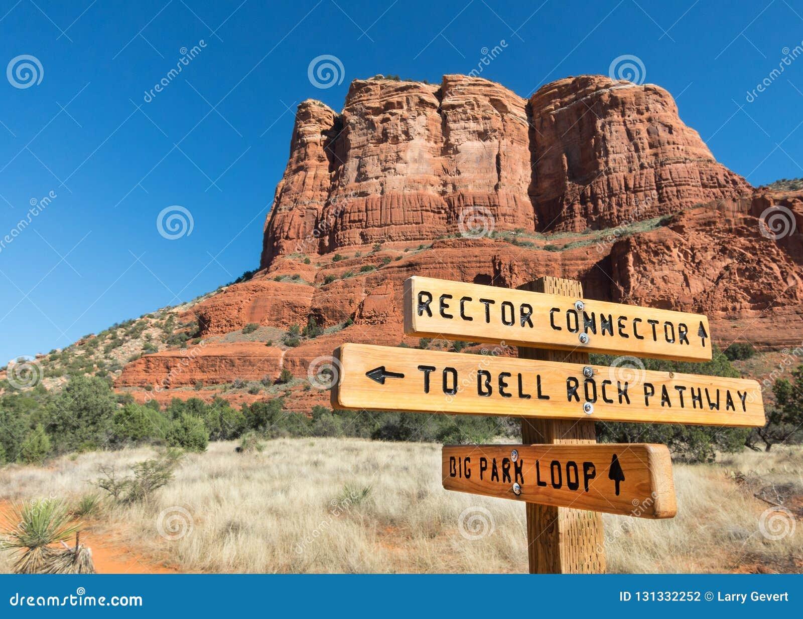 Nuevo rastro, rector Connector cerca de Sedona, Arizona
