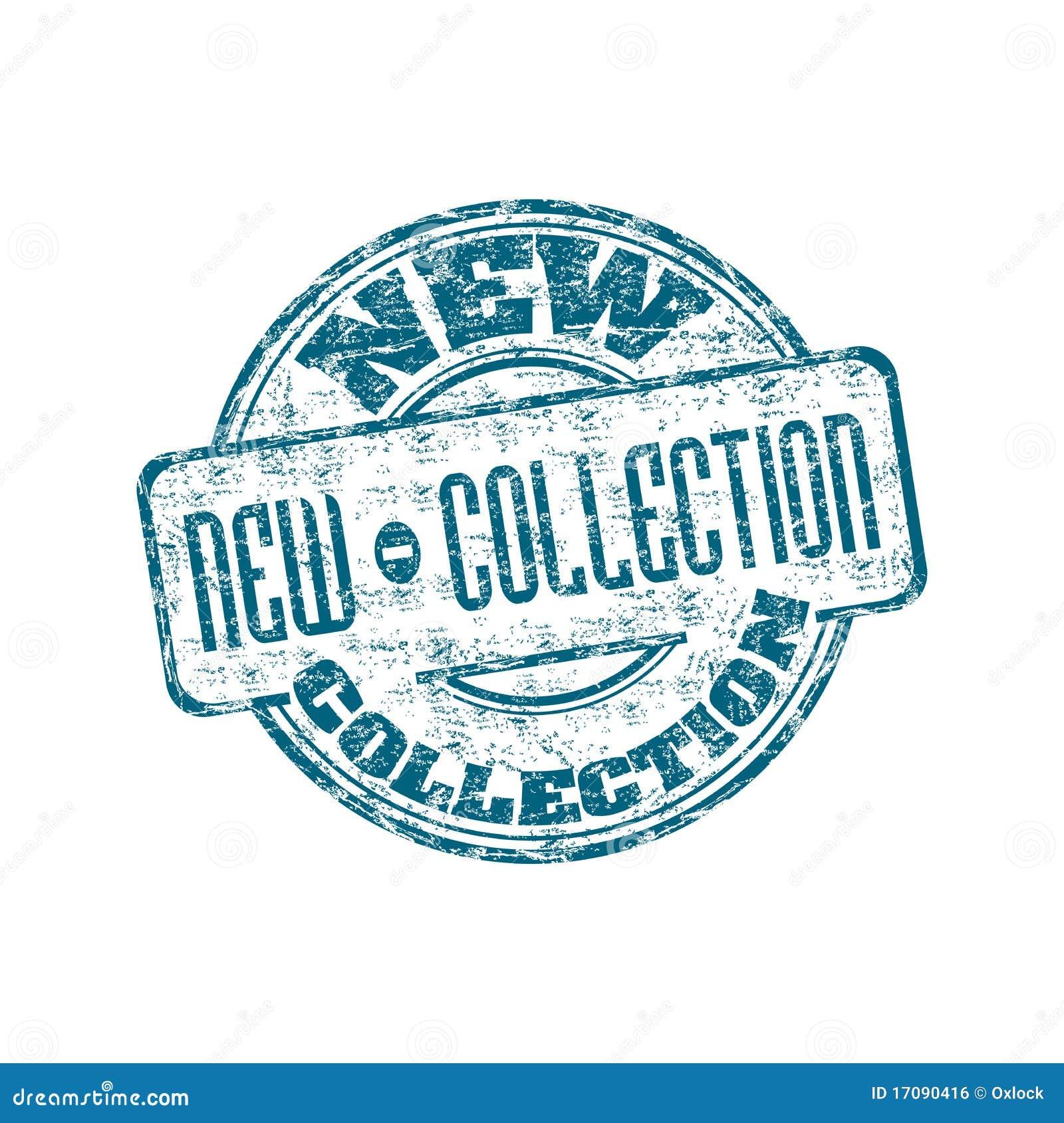 Nuevo sello de goma de la colección