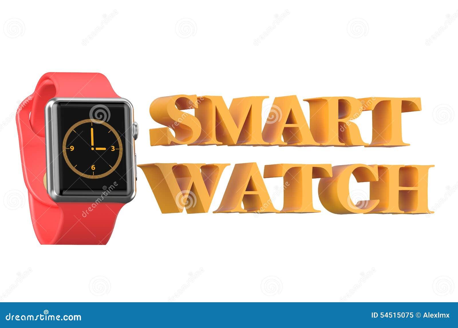 Nuevo smartwatch rojo
