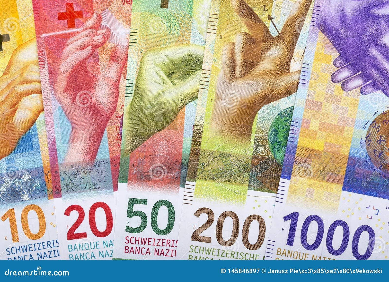 Nuevos francos suizos, un fondo