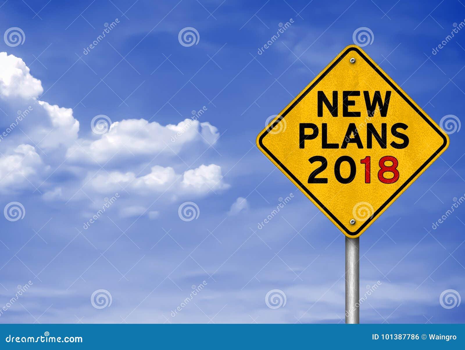Nuevos planes para 2018