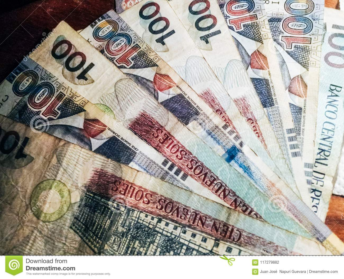 100 nuevos soles banknotes stock photo image of note 117279882 soles nuevos is the national currency of peru thecheapjerseys Choice Image