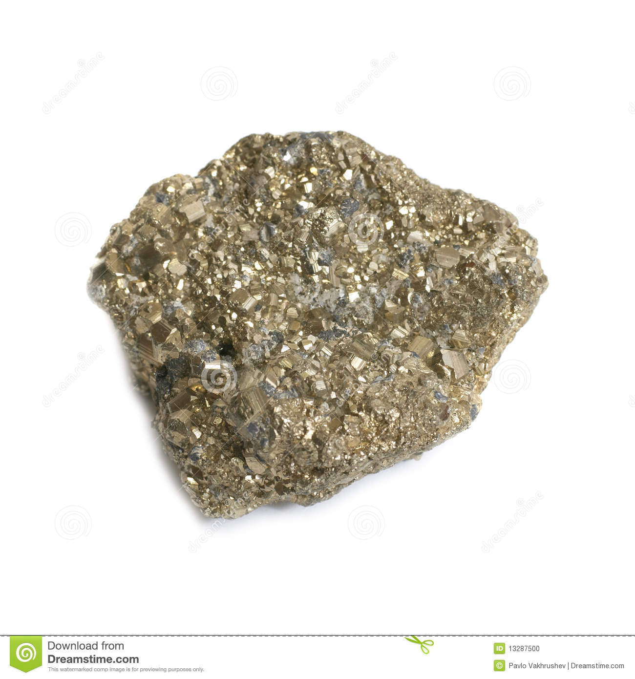 nugget on fools gold stock photo image 13287500