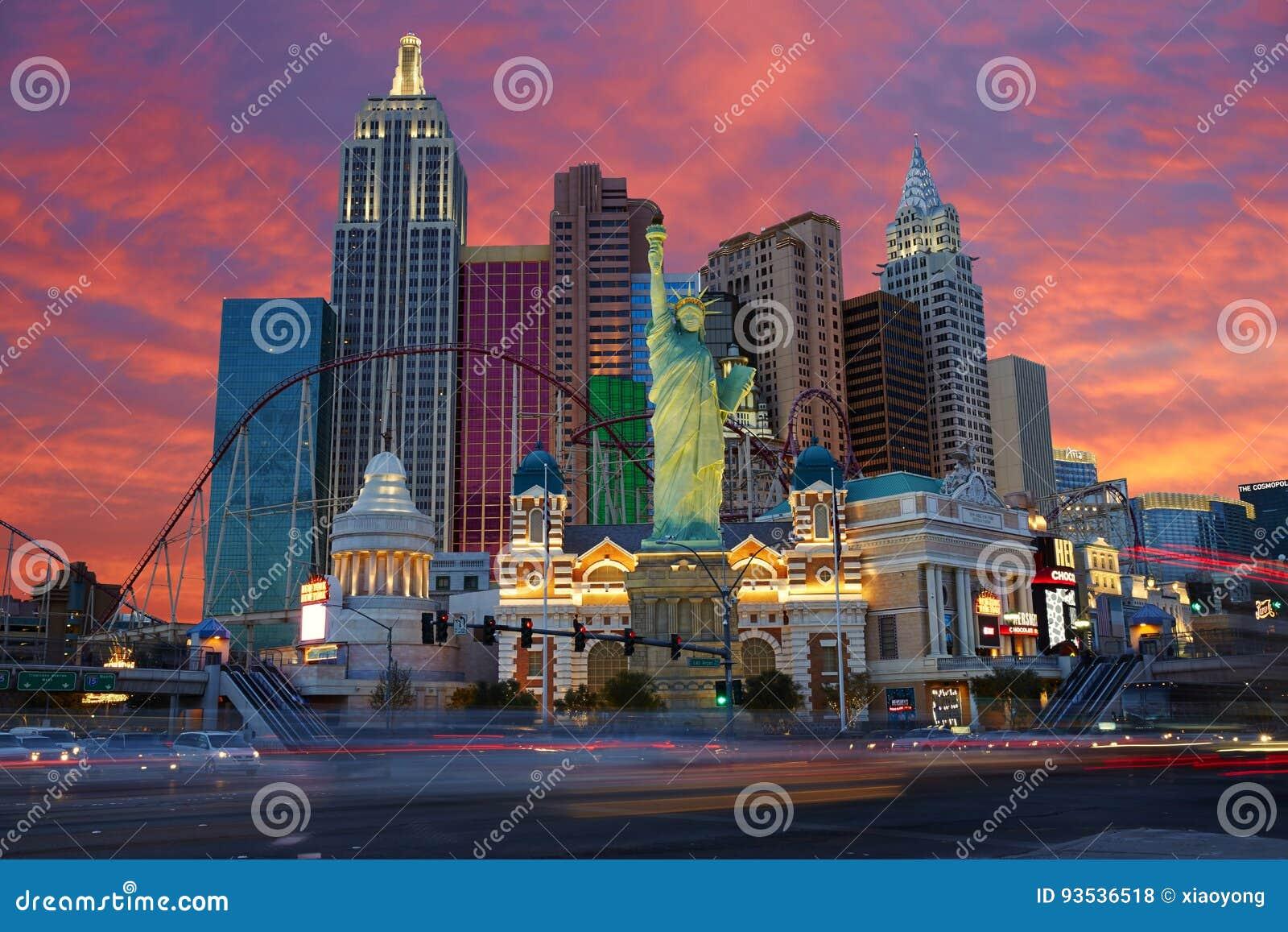 Nuit d horizon de Las Vegas