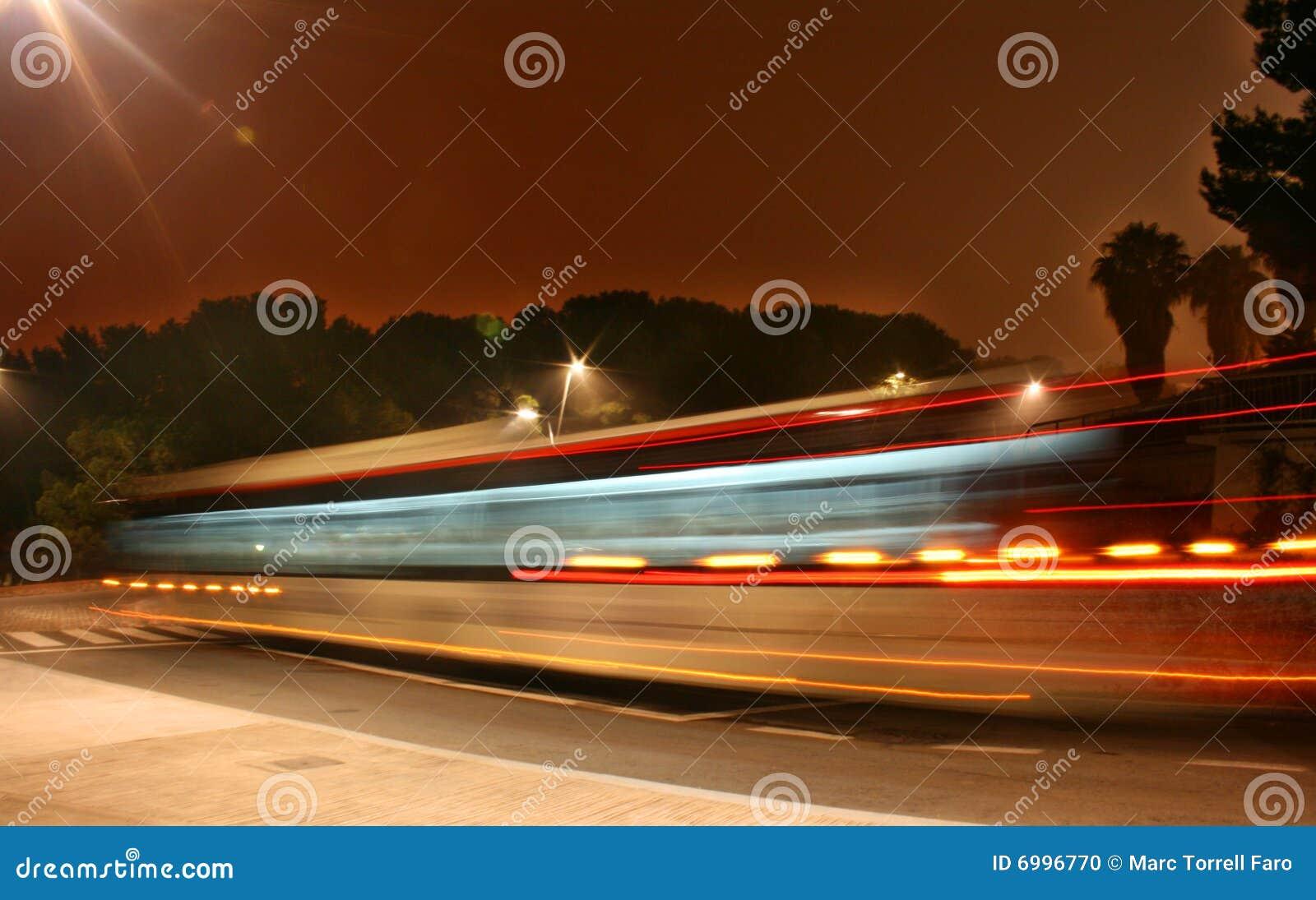 Nuit de bus
