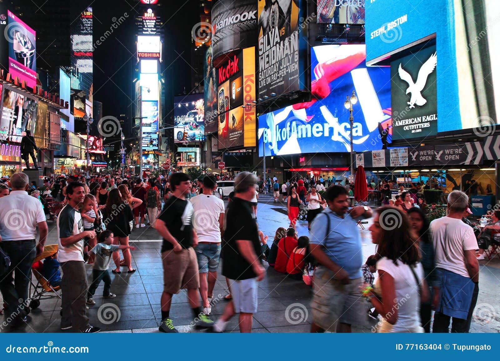 Nuit de Times Square