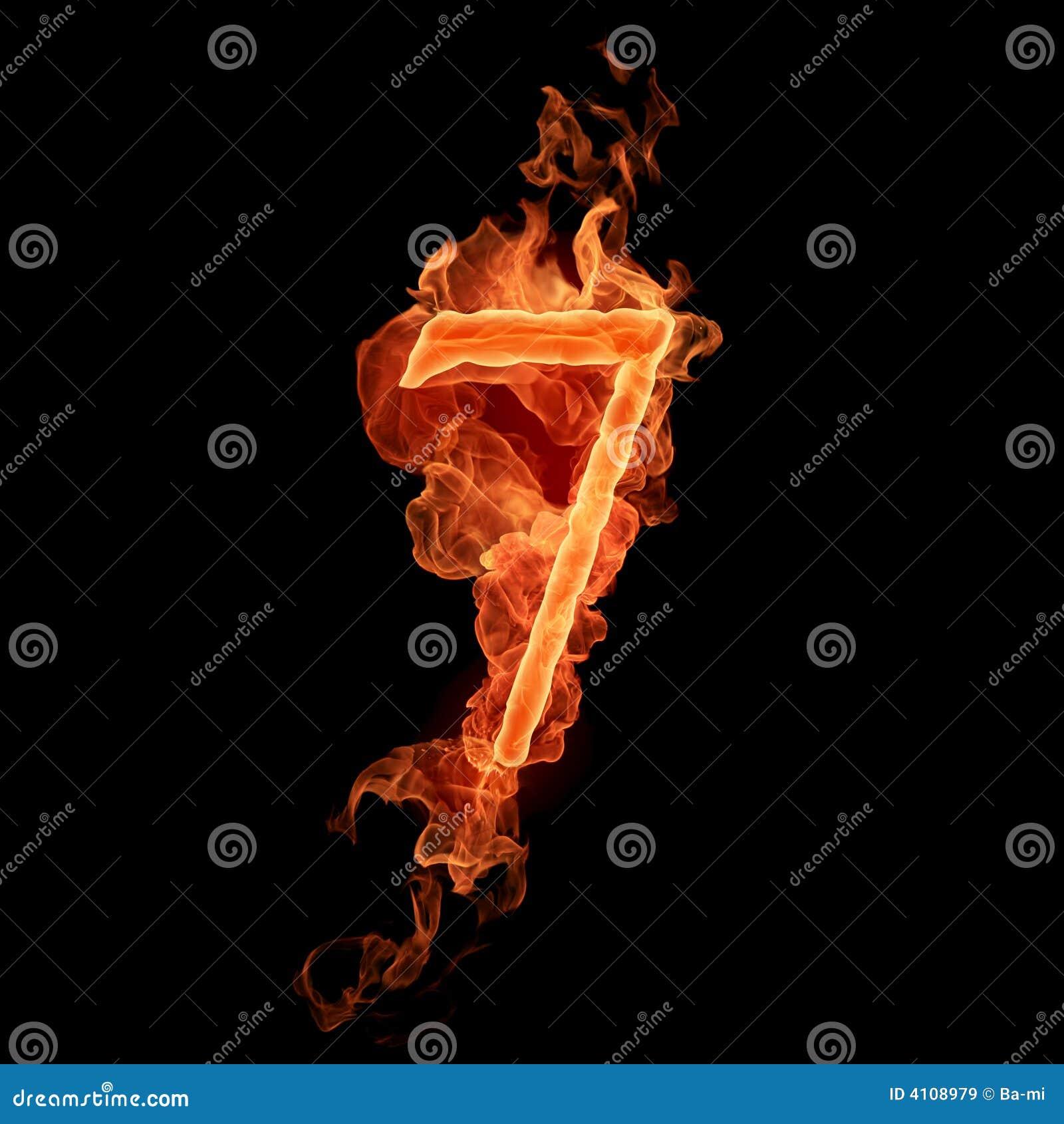 Numéro brûlant 7