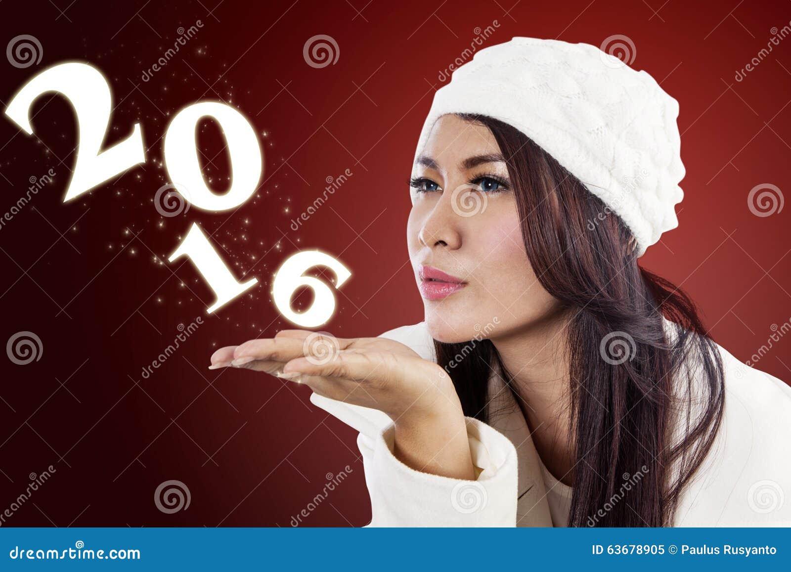 Numéros de soufflement 2016 de femme