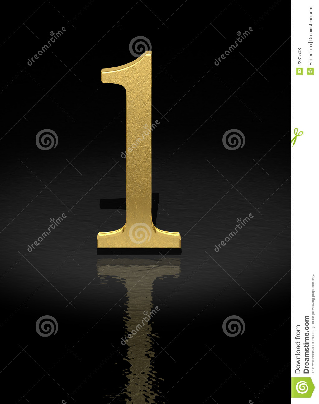 Number 1 Royalty Free Stock Photos - Image: 2231508: www.dreamstime.com/royalty-free-stock-photos-number-1-image2231508