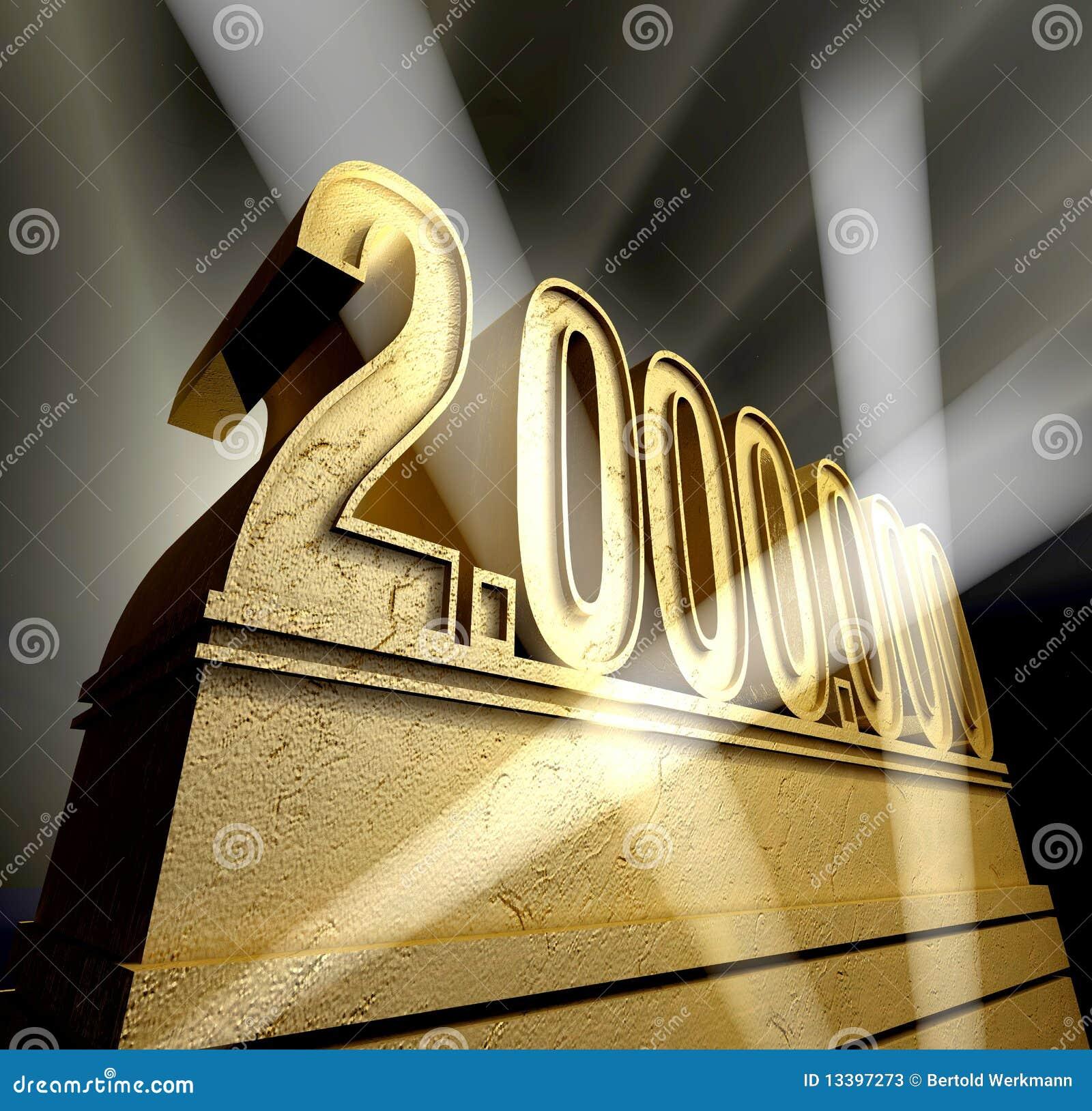 number 2 000 000 stock illustration  illustration of