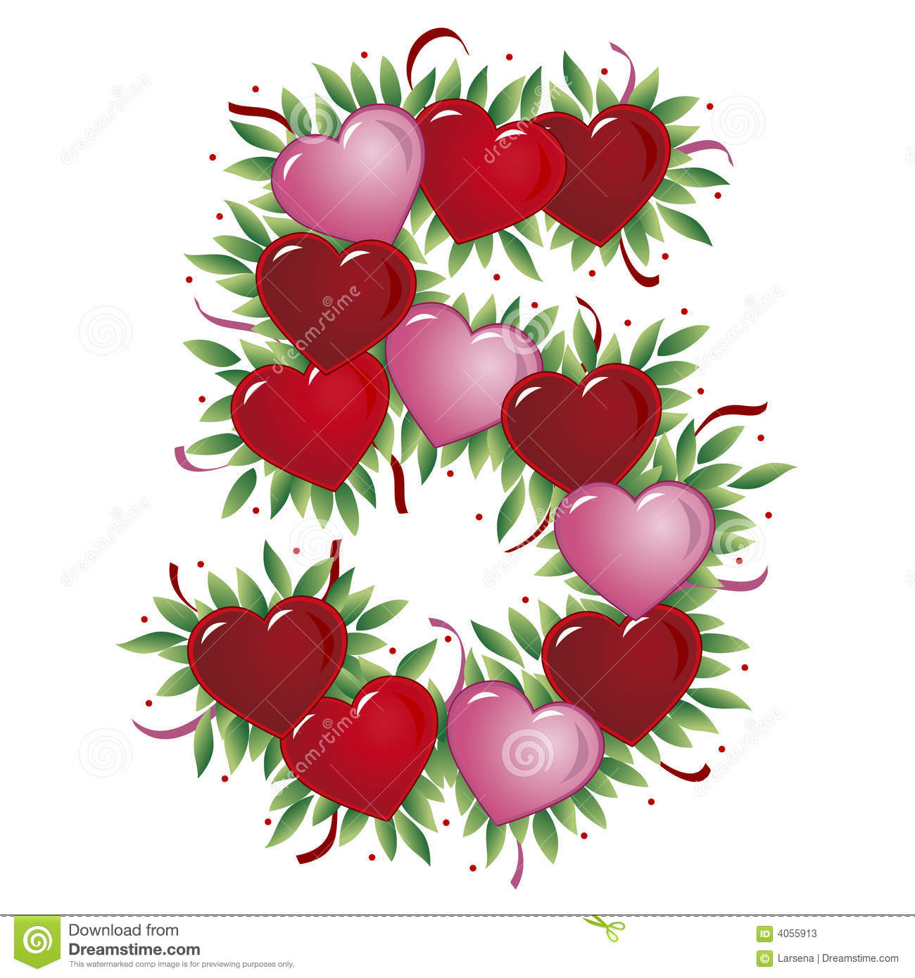 number 1 valentine u0027s heart royalty free stock images image