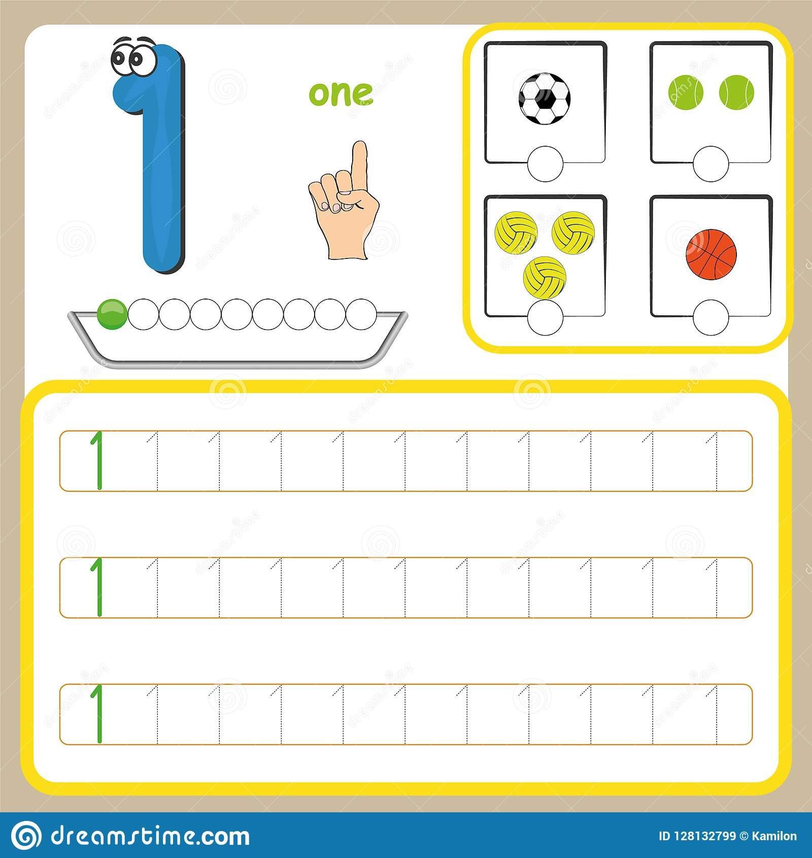 - Number Cards, Counting And Writing Numbers, Learning Numbers