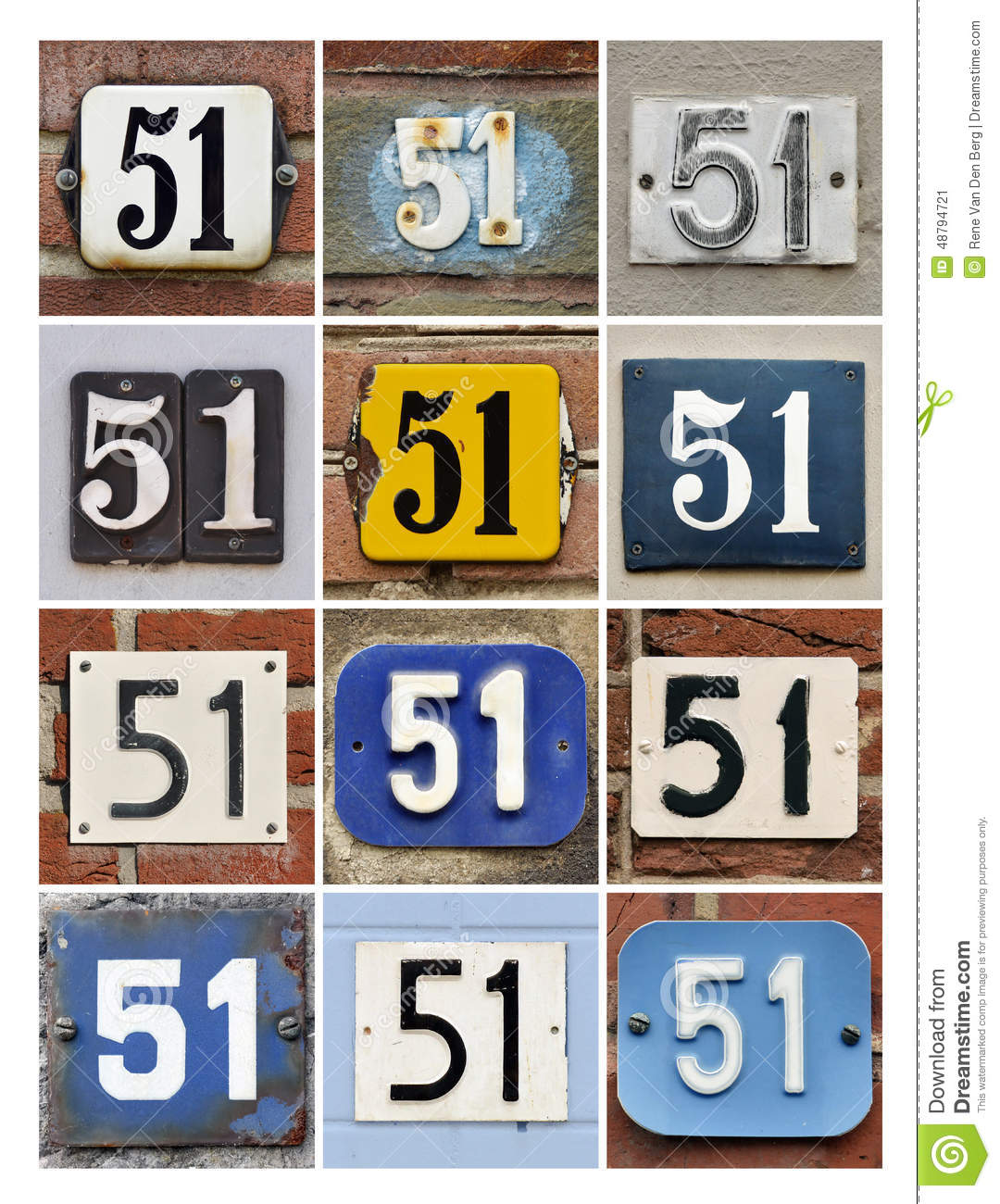 Number 51 Stock Image  Image Of Composite  Icon  51st