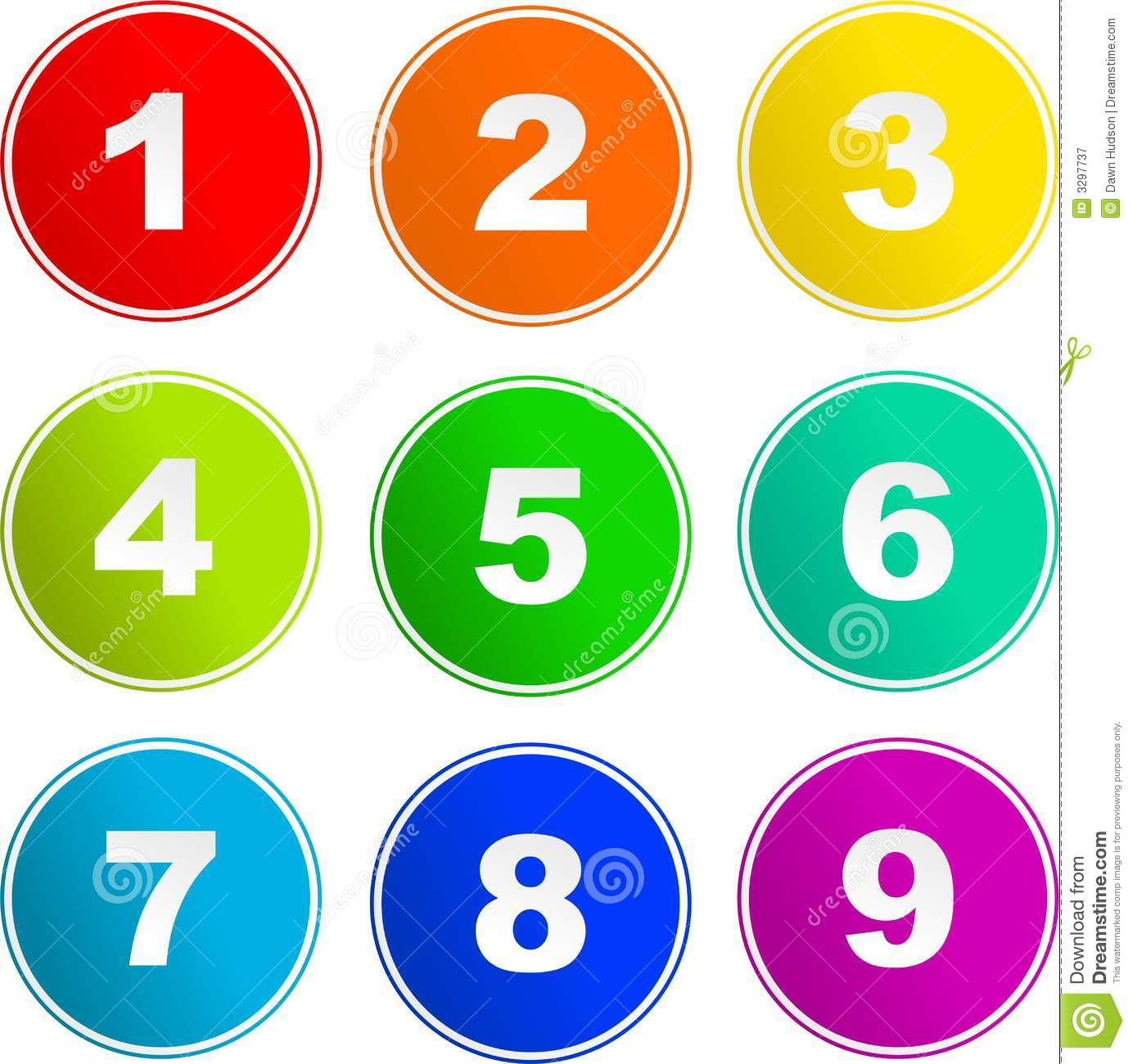 Number Sign Icons Stock Vector. Illustration Of Decoration
