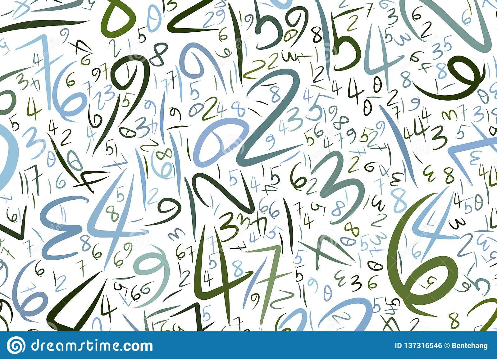 Abstract Letter Art Backgrounds