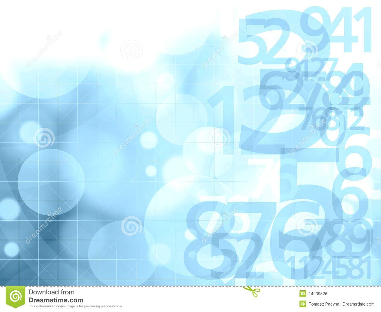 Numbers Background Royalty Free Stock Image - Image: 24939526