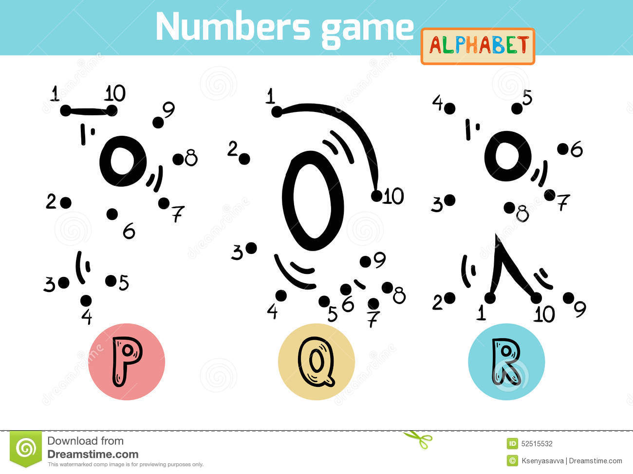 letters p q and r stock photography image 15830572 numbers alphabet letters p q r stock vector 552