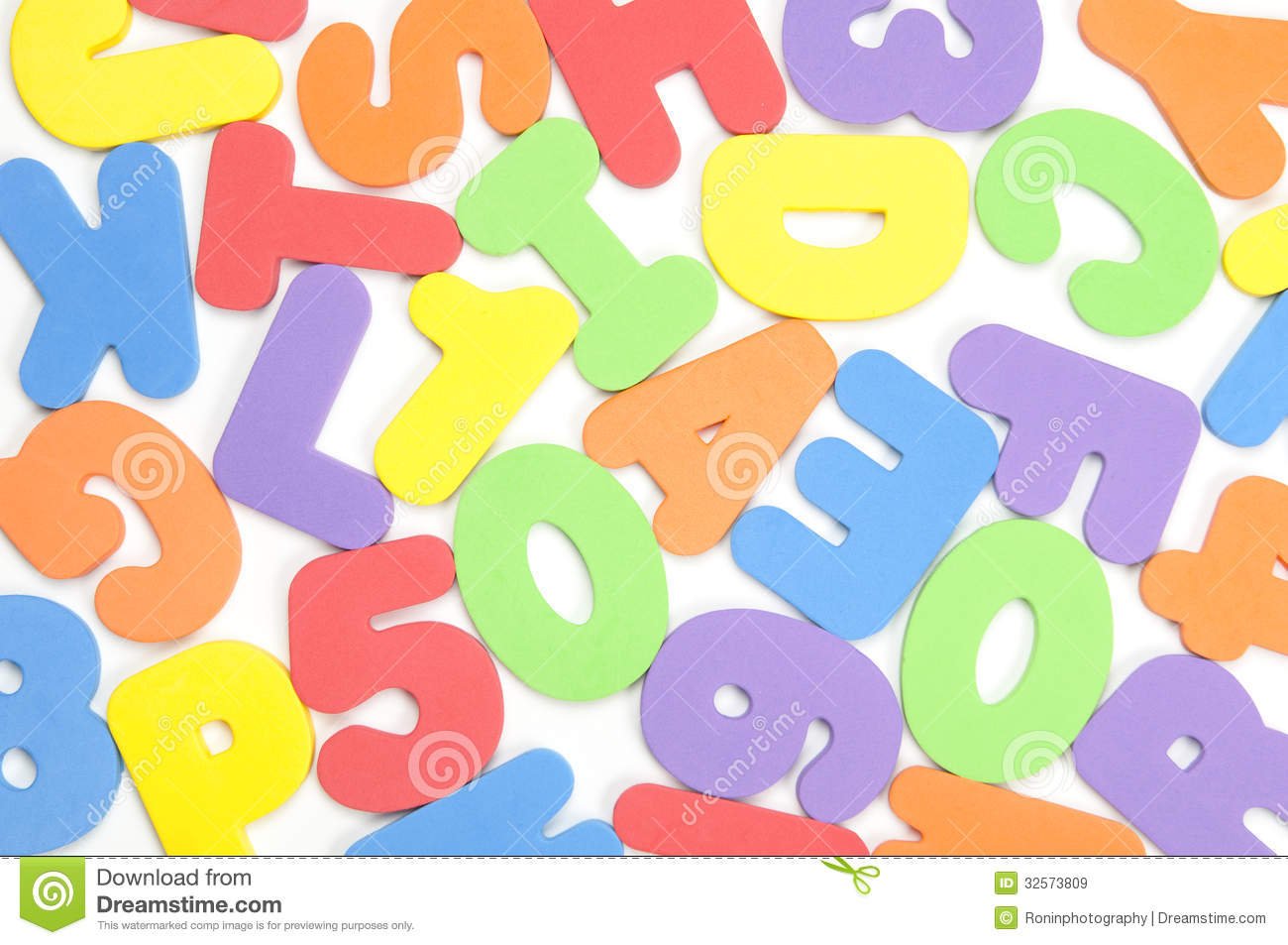 foam numbers and letters royalty free stock images image 32573809