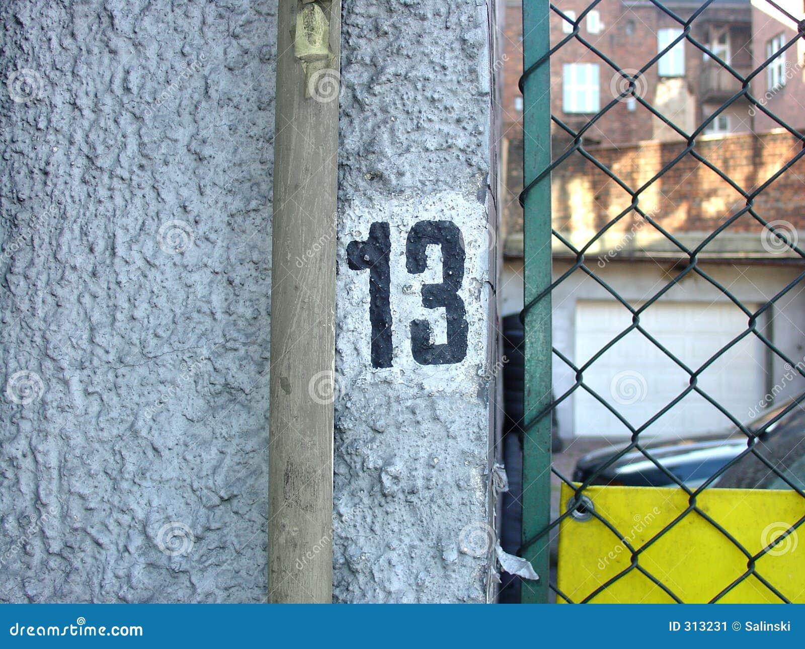 Numer 13 pecha
