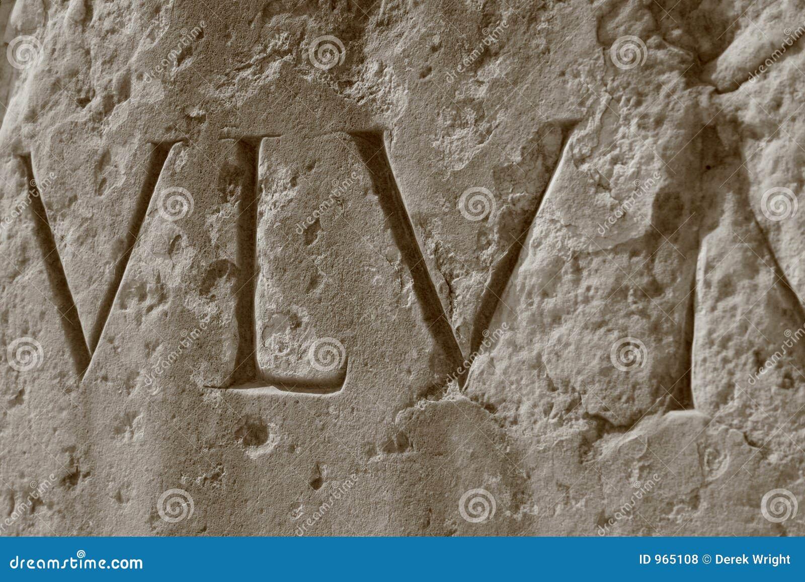 Numerais romanos, coliseu romano