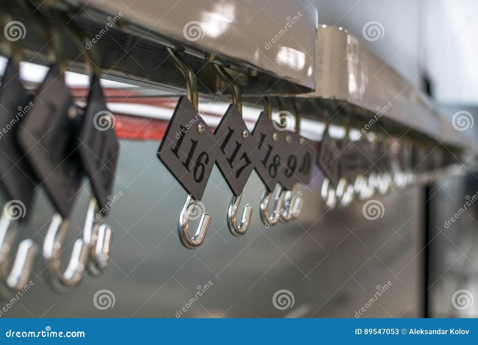 Numeri Per Guardaroba.Numeri Del Guardaroba Immagine Stock Immagine Di Casa