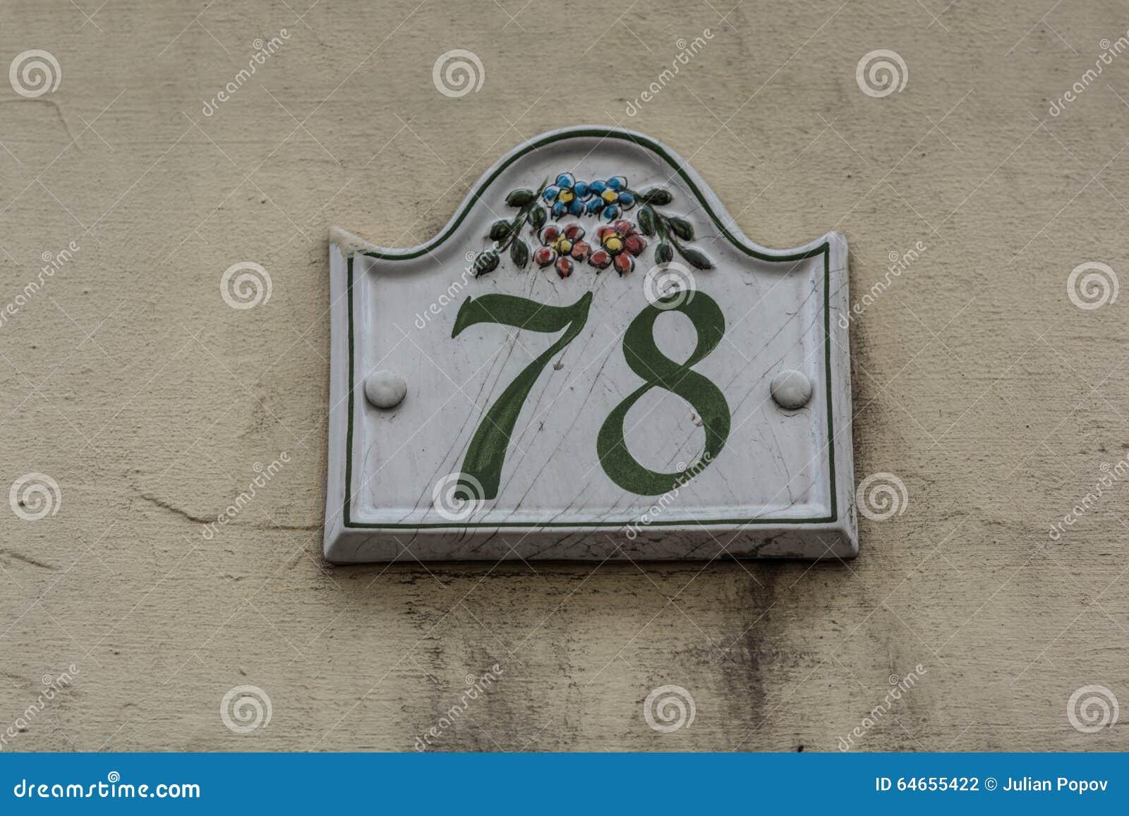 Piastrella con numero civico numero civico arreden numero civico