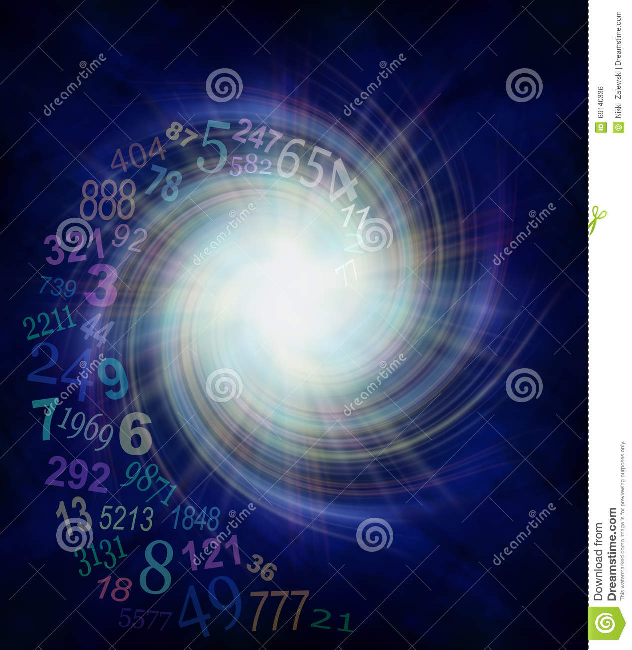 Serendipity cartoons illustrations vector stock images for Best house number numerology