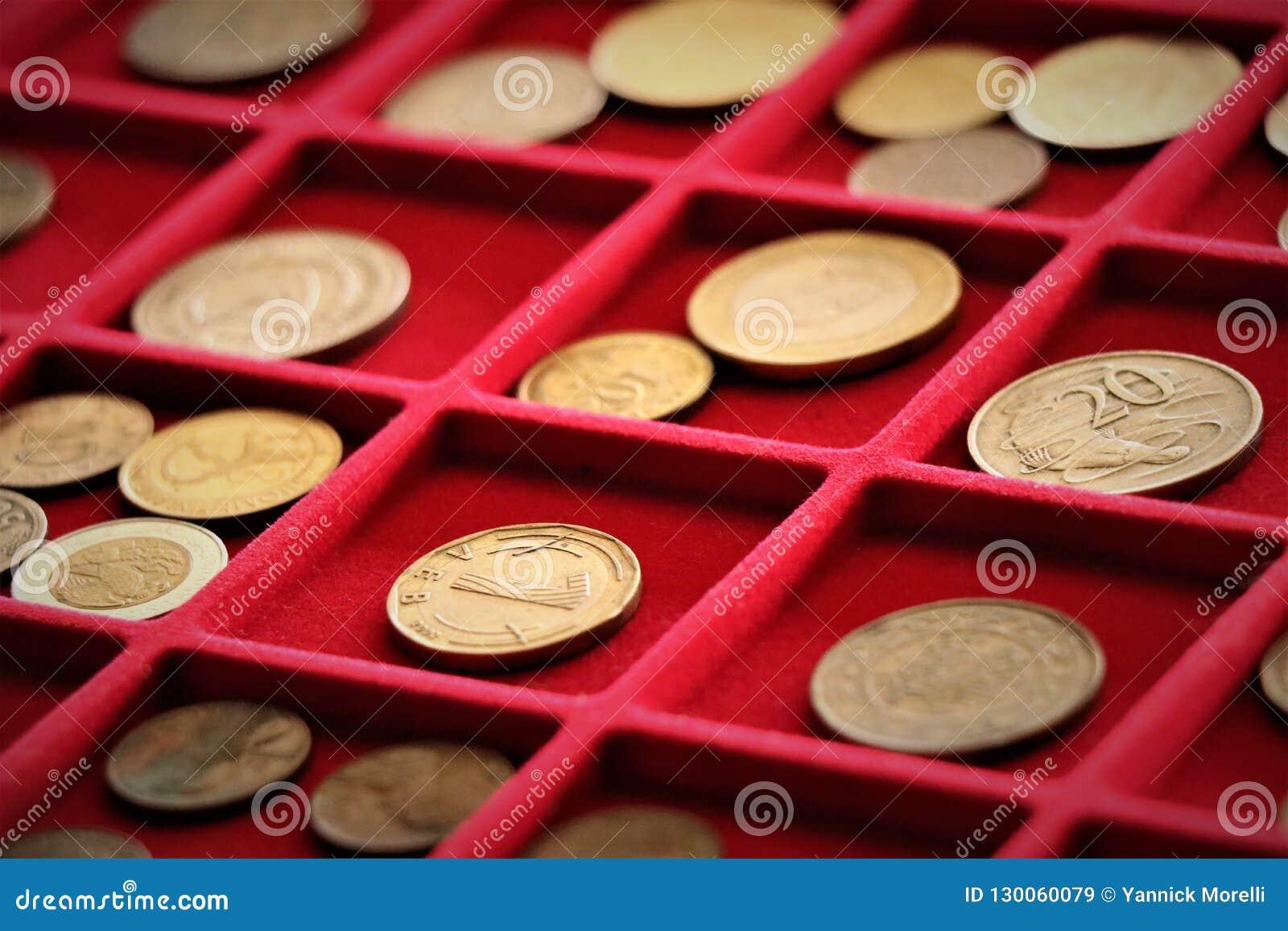 Numismatic работа Собрание монеток, вклад