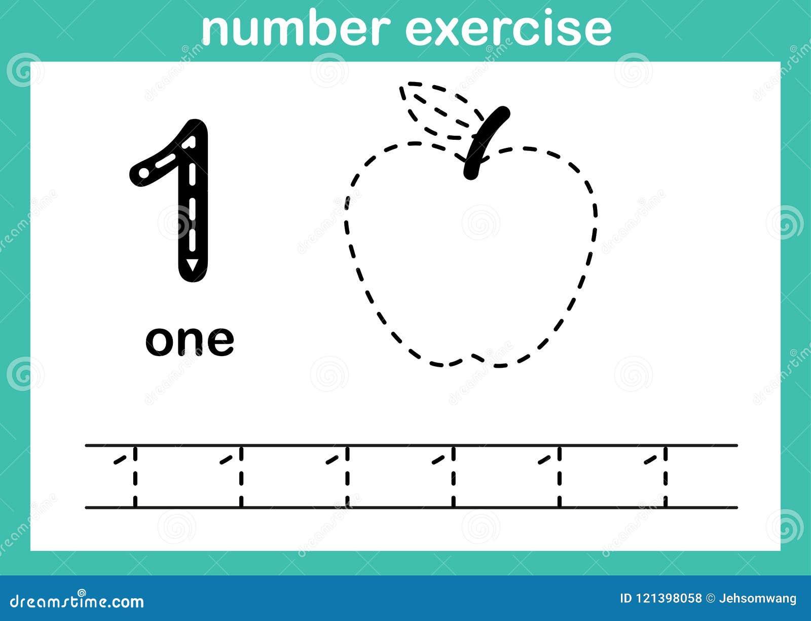 Nummer één oefening