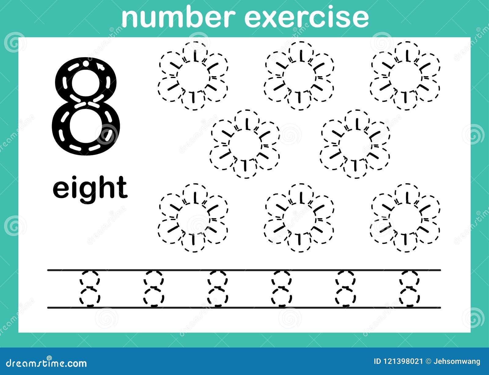 Nummer acht oefening