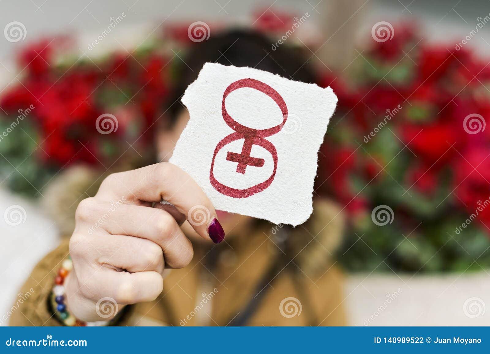 Nummer 8, voor 8 maart, de dag van de vrouwen