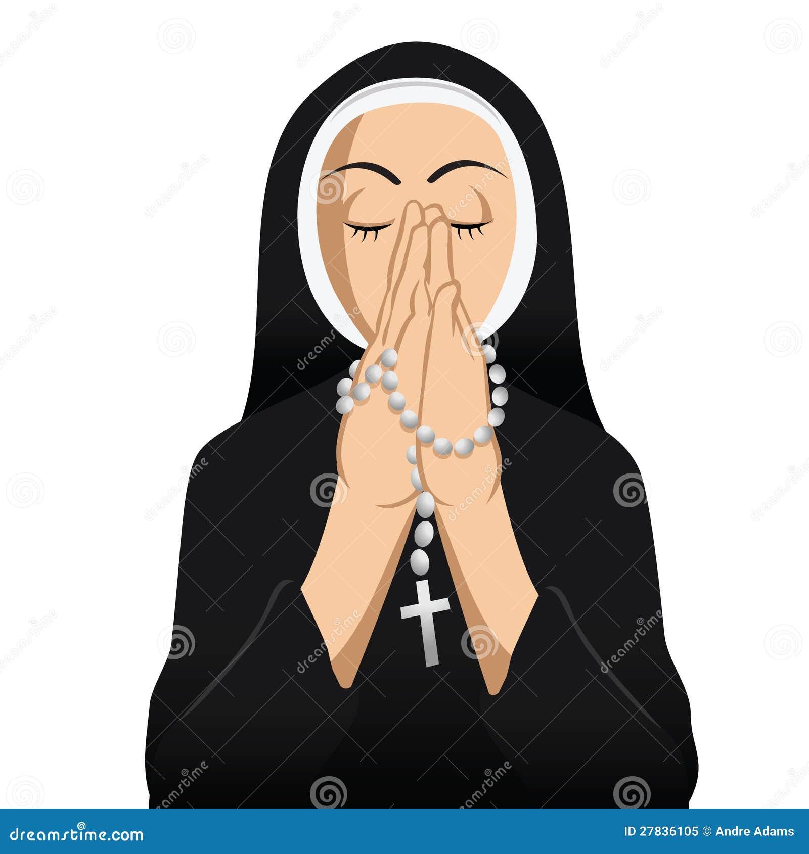 ᐈ Nun cartoon stock images, Royalty Free nun pictures   download on  Depositphotos®
