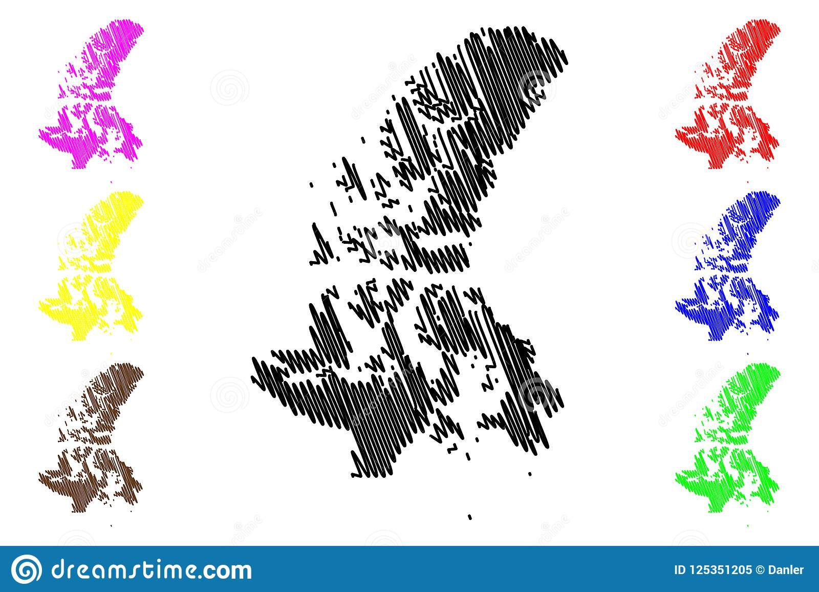 Provinces And Territories Of Canada Map.Nunavut Canada Map Vector Stock Vector Illustration Of National