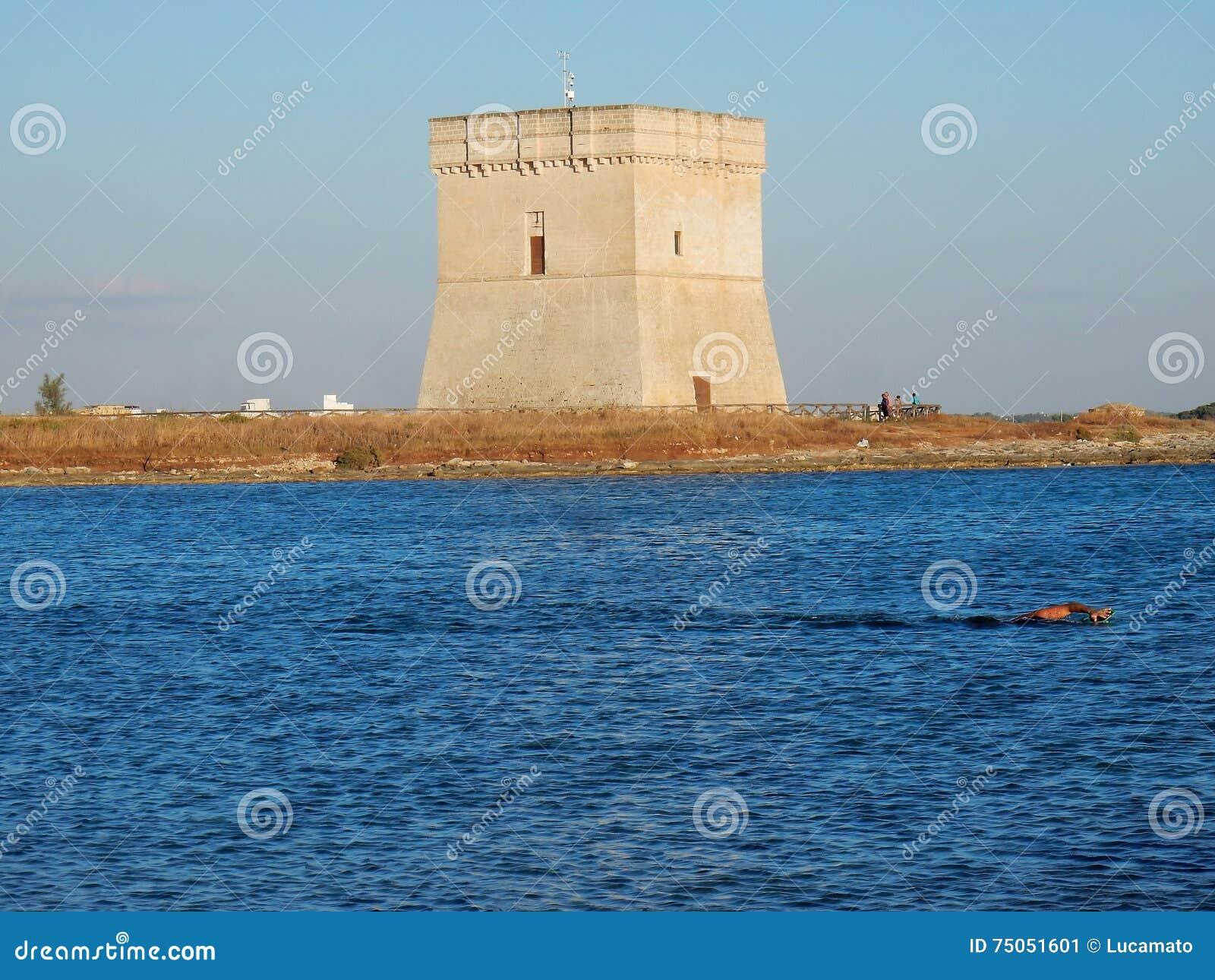 Nuotata en Torre Chianca