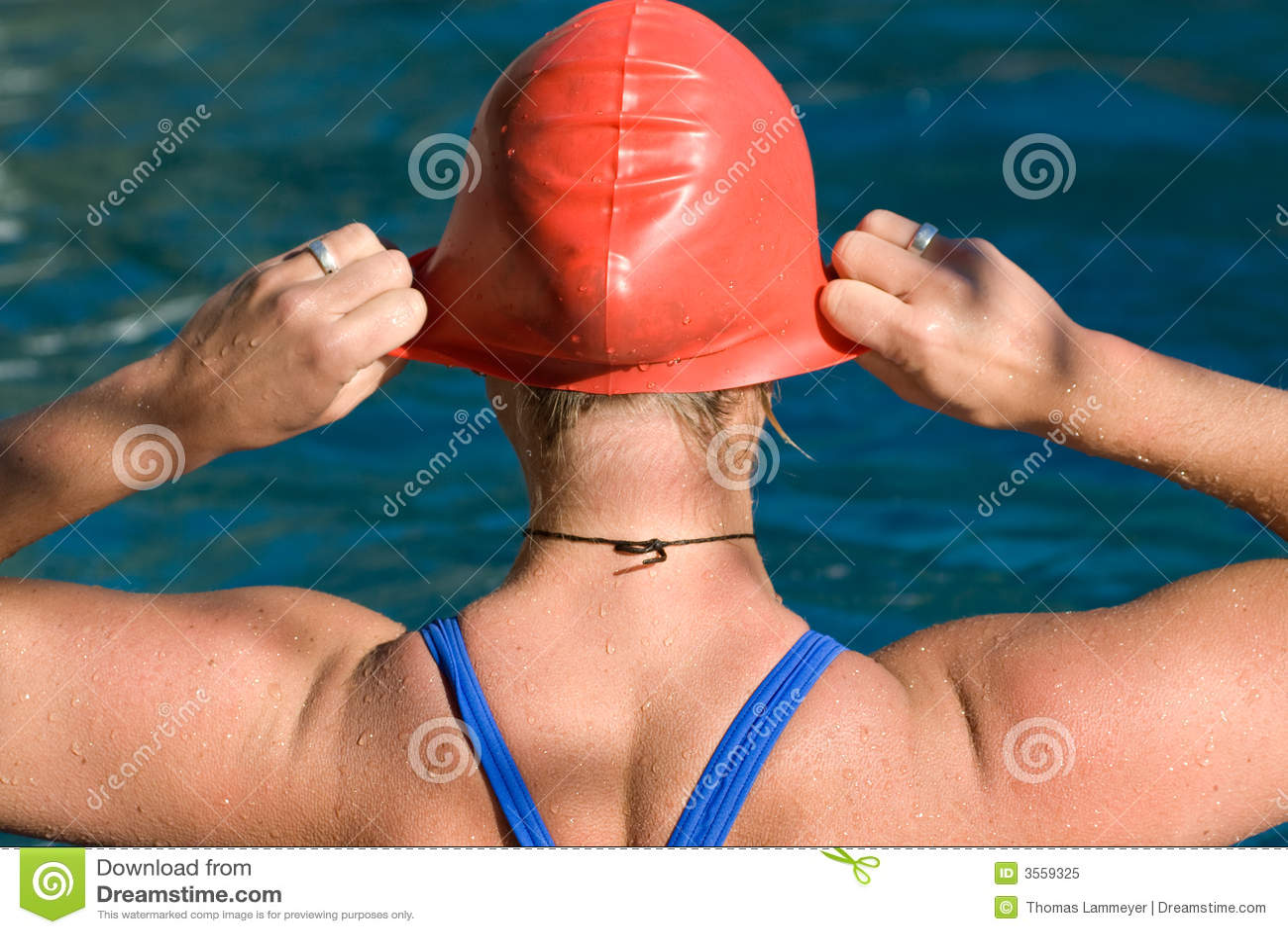 Nuotatore atletico