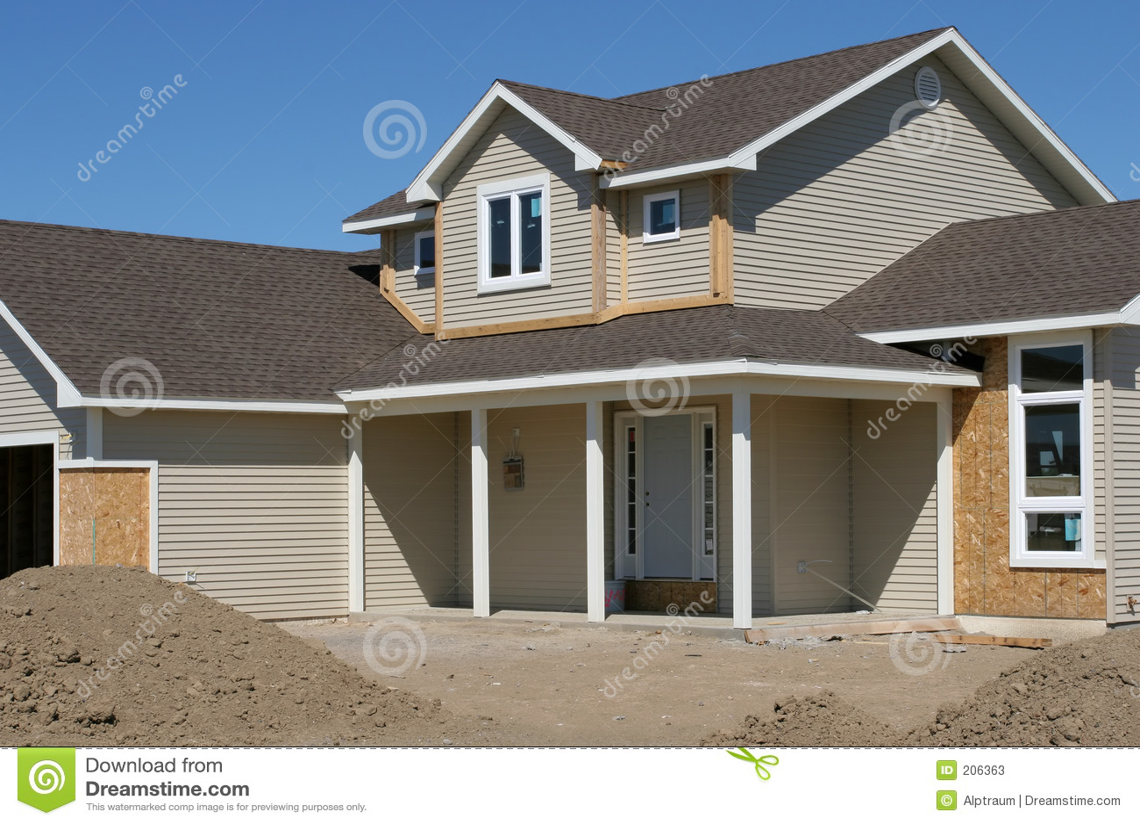 Nuova casa americana