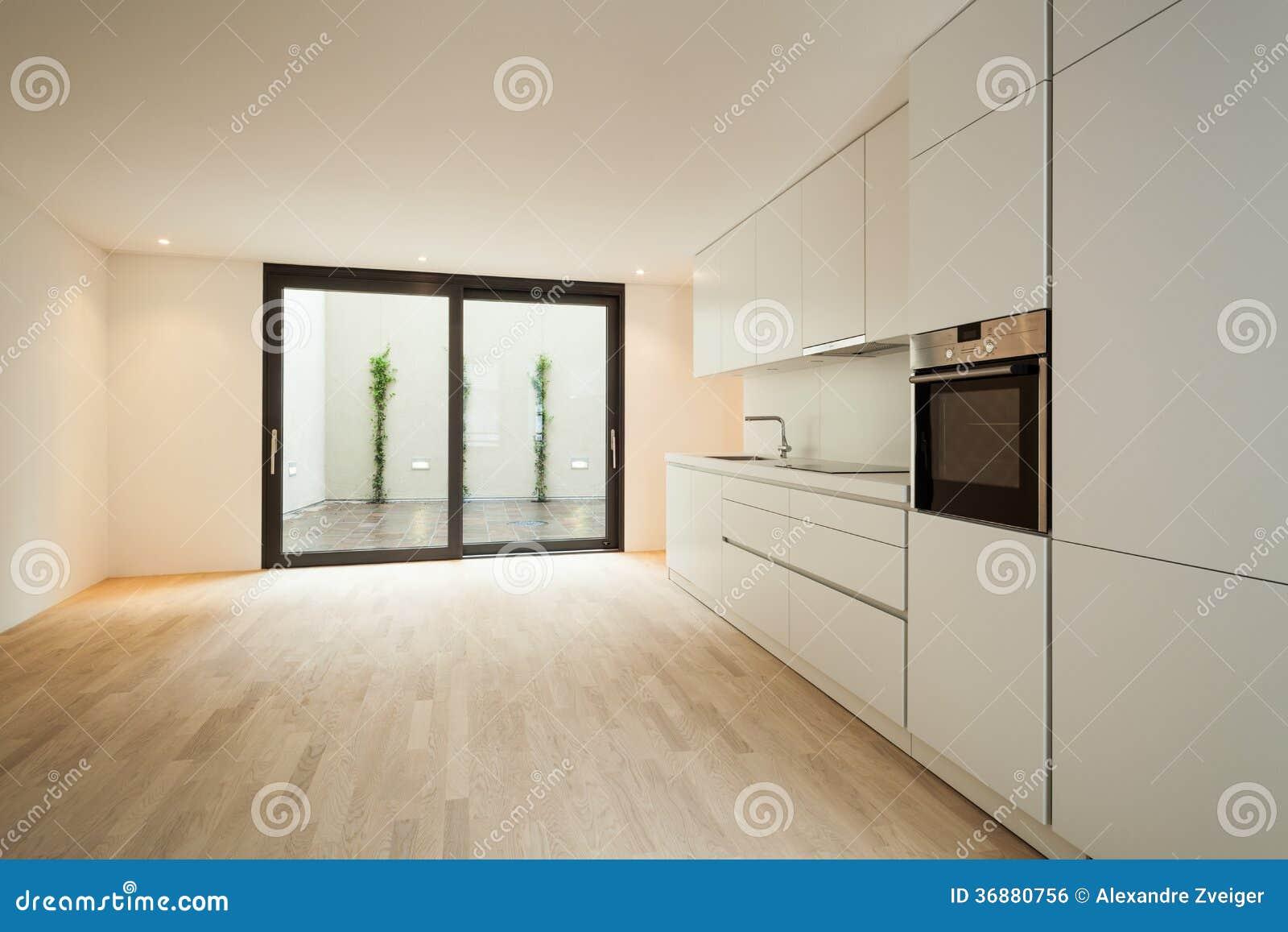 Download Nuova casa interna fotografia stock. Immagine di contemporaneo - 36880756