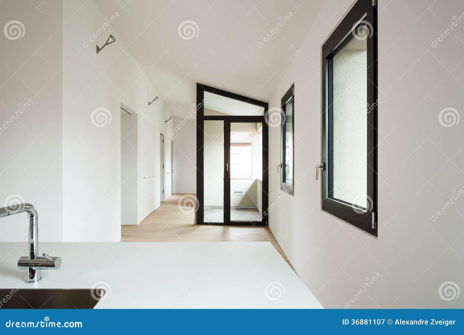 Download Nuova casa interna immagine stock. Immagine di vista - 36881107