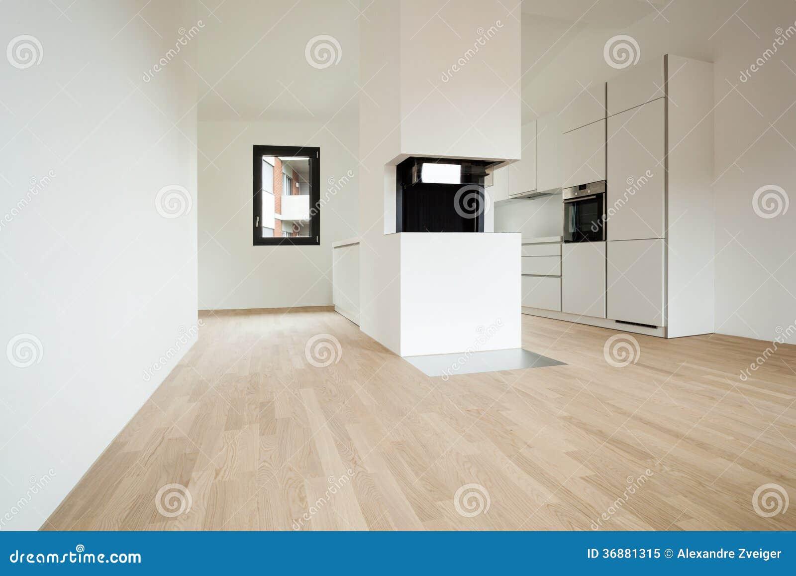 Download Nuova casa interna immagine stock. Immagine di finestra - 36881315