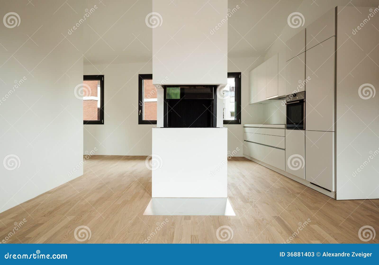 Download Nuova casa interna immagine stock. Immagine di architettura - 36881403