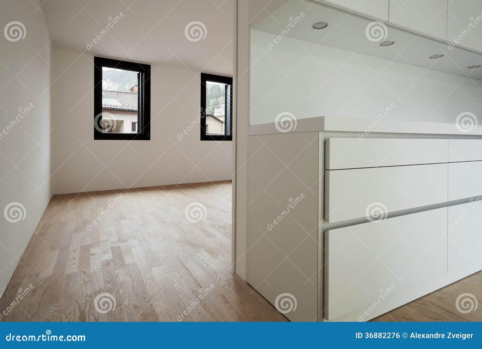 Download Nuova casa interna fotografia stock. Immagine di vista - 36882276